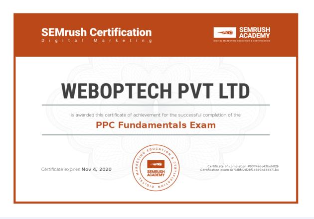 Certificate-ppc-fundamentals-Exam