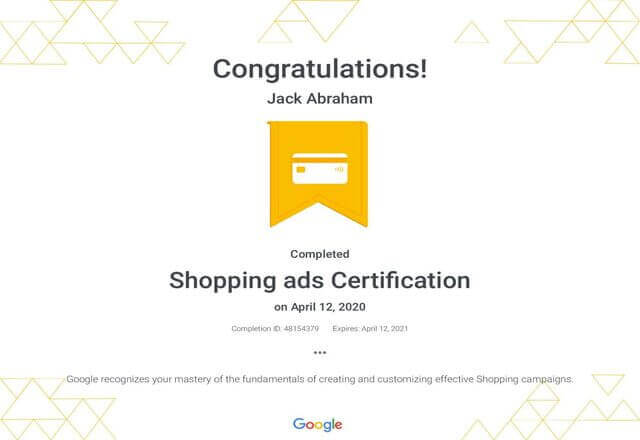 Shopping-ads-Certification-_-Google