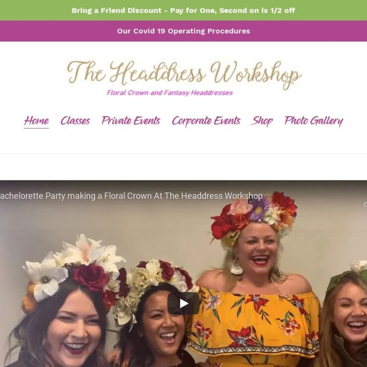 theheaddressworkshop com