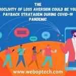 The proclivity of loss aversion could be your payback stratagem during COVID-19 pandemic
